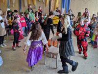 Elfen, Rehe und Außerirdische beim FGV-Kinderfasching