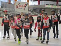Große Freude beim Eisschnelllauffinale