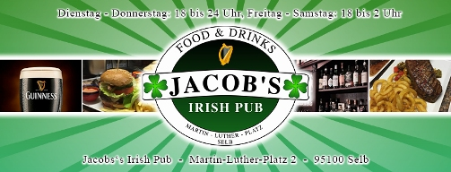jacobs irish pub selb